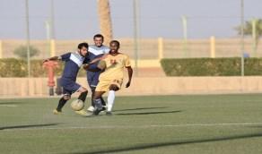 طبرجل وتضامن رفحاء يحصدان الفوز في أولى منافسات دوري الجوف والشمالية