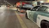 المرور يضبط قائد مركبة مارس التفحيط في شارع عام بالرياض