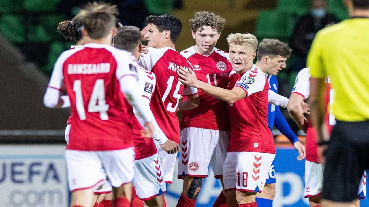 رسميًا.. منتخب الدنمارك ثاني المتأهلين لكأس العالم 2022