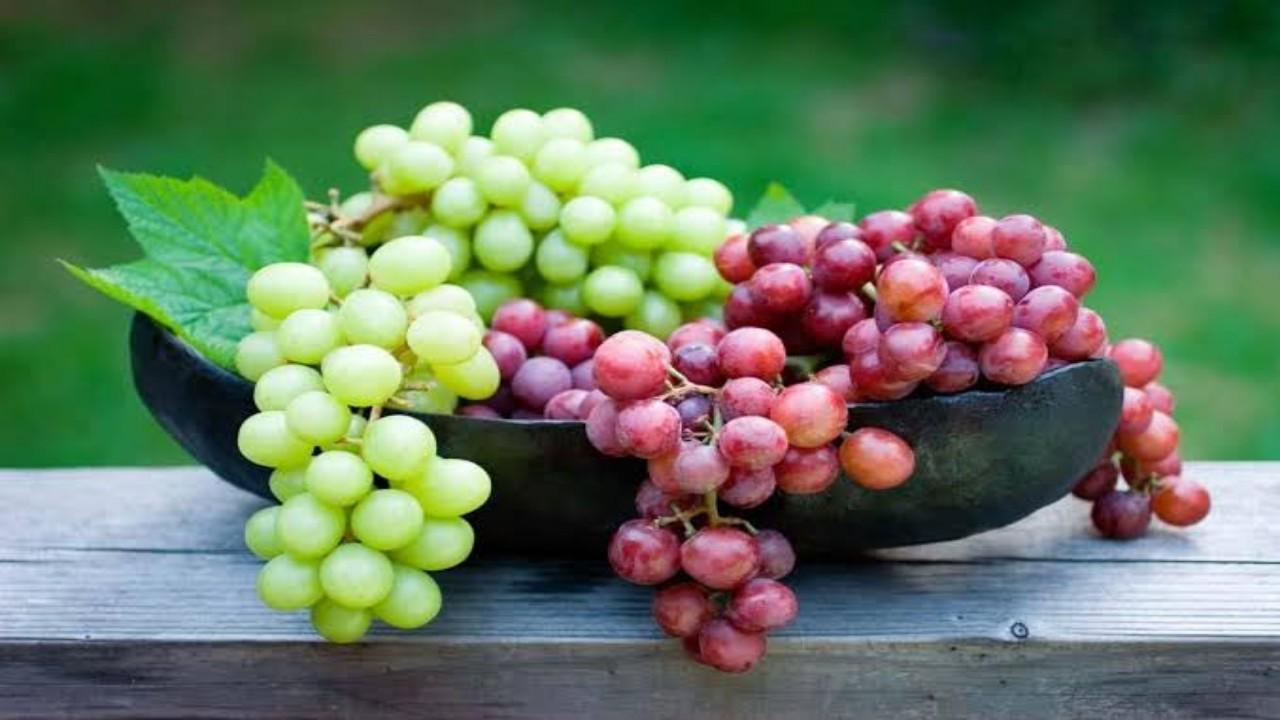 فوائد العنب وتأثير تناوله يوميًا على الصحة