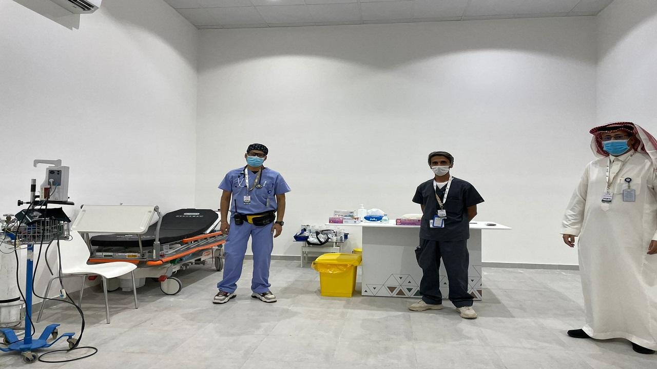 """""""صحة الرياض"""" تواصل تقديم خدماتها في معرض الصقور والصيد السعودي الدولي"""