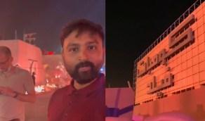 """بالفيديو.. إقبال كبير من السياح الأجانب على فعالية """"كومبات فيلد"""""""