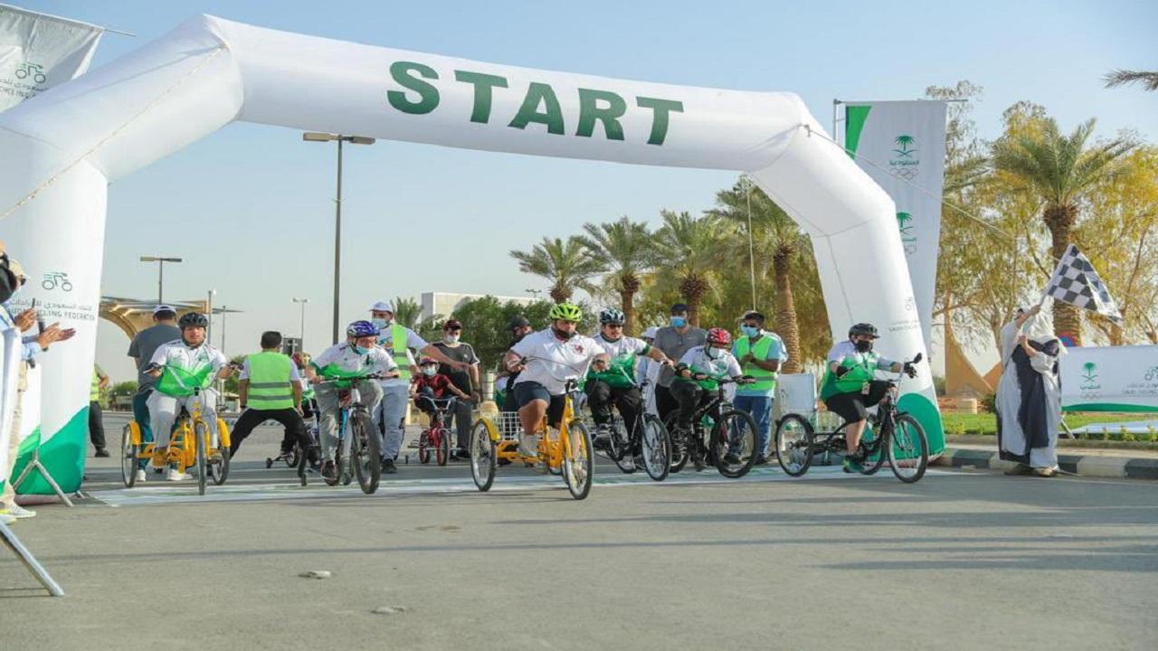 """""""الوثلان"""" لـ """"صدى"""": بدأت مبادرة دراجتي لذوي الإعاقة بشخصين لتصل إلى 80 طفل وطفلة"""
