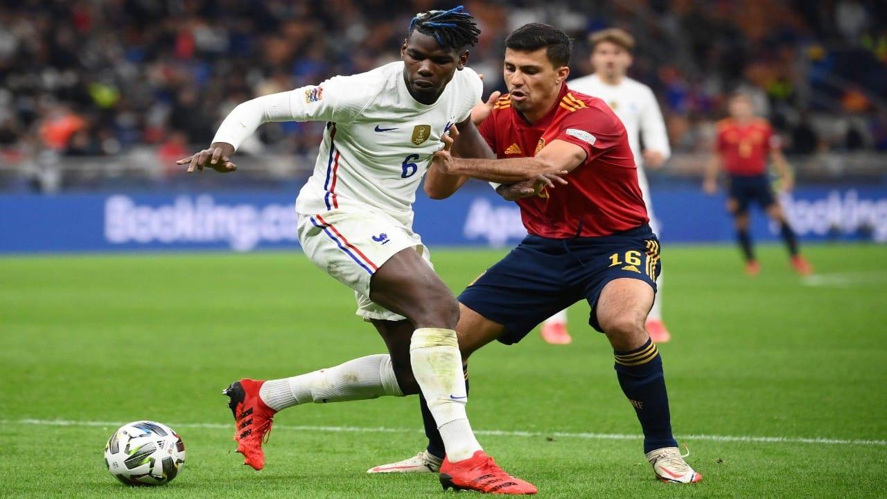 فرنسا تتربع على عرش أوروبا بعد فوزها على إسبانيا
