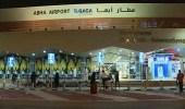 فيديو..توقف حركة الملاحة بمطار أبها الدولي مؤقتًا