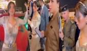 بالفيديو.. شمس الكويتية تتجول في شوارع بغداد: بدون درع واقي