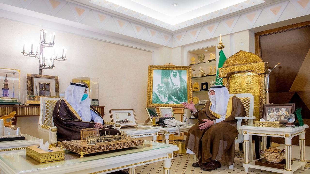 سمو أمير القصيم يستقبل معالي الرئيس التنفيذي للهيئة العامة للغذاء والدواء