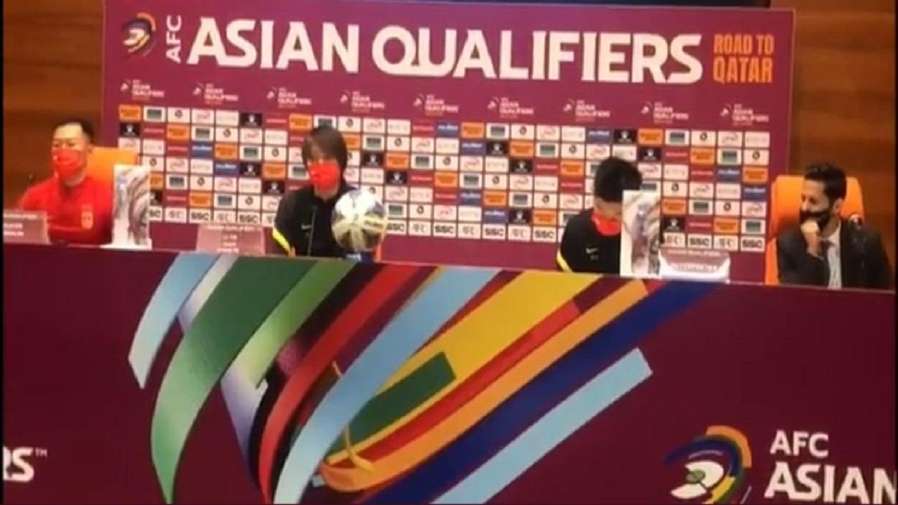 مدرب المنتخب الصيني:نتطلع لتقديم مباراة جيدة أمام المنتخب السعودي