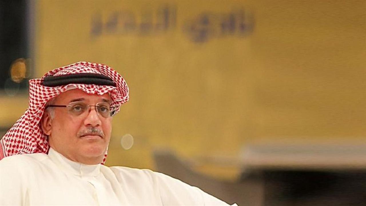 الأمير الوليد بن بدر يوضح حقيقة إبعاد حسين عبدالغني عن النصر