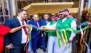 بالفيديو.. افتتاح صالة رياضية بدعم المملكة في عدن