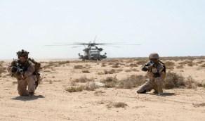 اختتام المناورات بين القوات البحرية السعودية والأمريكية بالبحر الأحمر