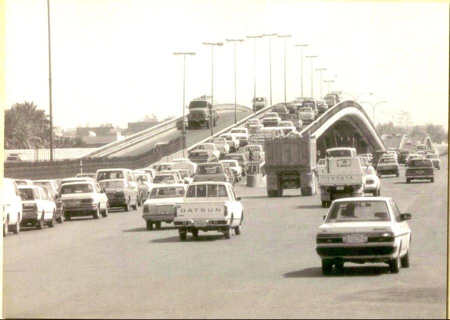 الرياض شارع الكباري قديما