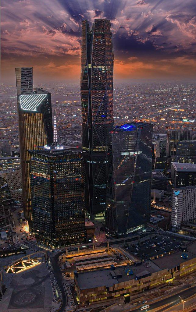 لقطة رائعة من الرياض
