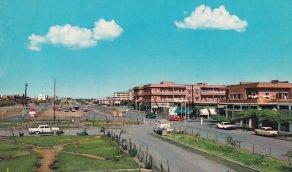 صورة من شارع الظهران قديما