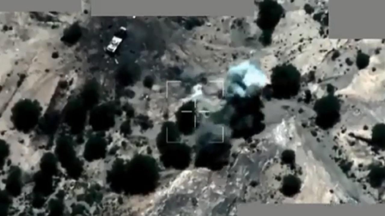 بالفيديو .. التحالف العربي يستهدف آليات وعناصر حوثية في العبدية