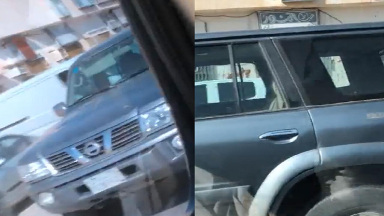 بالفيديو.. طفل يسوق مركبة في شوارع حفر الباطن