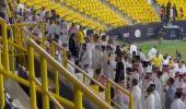 شاهد .. غضب جماهير النصر بعد خسارة الفريق أمام الاتفاق