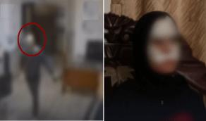 بالفيديو.. شخص يعتدي على زميلته بسكين ويشوه وجهها