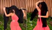 بالفيديو.. رقصة مثيرة لـ ميريام فارس بالشال الأسود