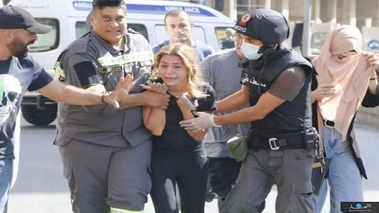 شاهد .. فزع اللبنانيين مع الاشتباكات المسلحة لحزب الله الإرهابي في بيروت