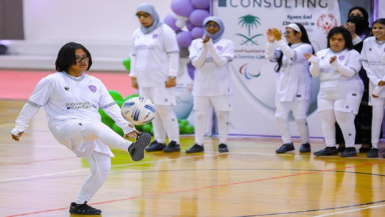 فريق نسائي لذوي الإعاقة في الرياض