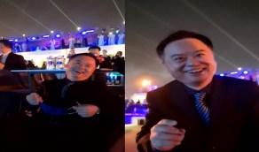 موسم الرياض.. السفير الصيني يستمتع بالأجواء