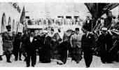 صورة نادرة للملك سعود في فلسطين قبل 85 عامًا