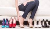 أحذية الكعب العالي تفاقم الإصابة بفيروس كورونا