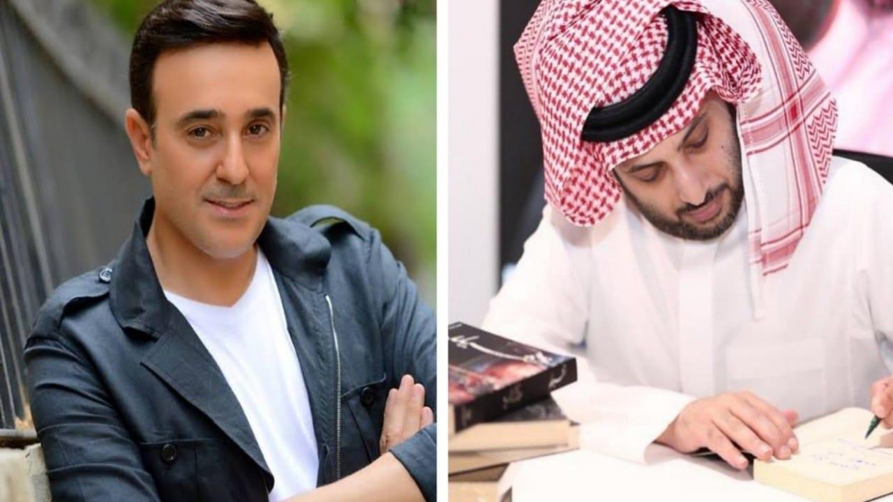 """رسالة من صابر الرباعي إلى """"آل الشيخ"""" بشأن روايته الجديدة """"تشيللو"""""""