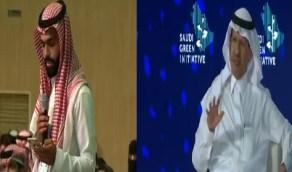 بالفيديو.. وزير الطاقة يمازح شاب سأله عن المحميات البحرية