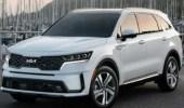 كيا تعلن عن سياراتها الهجينة الجديدة سورنتو 2022