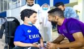بالفيديو.. مشهد إنساني للهلال تجاه طفل كويتي من ذوي الإعاقة