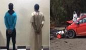 فيديو.. ضبط شخصين تسببا في حادث أودى بحياة مواطنة بجازان