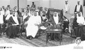 صورة نادرة تجمع 3 ملوك في مناسبة واحدة بالمنطقة الشرقية