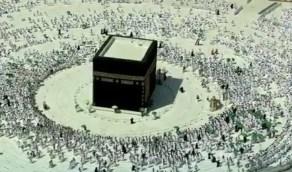 بالفيديو.. أول صلاة جمعة من المسجد الحرام دون تباعد