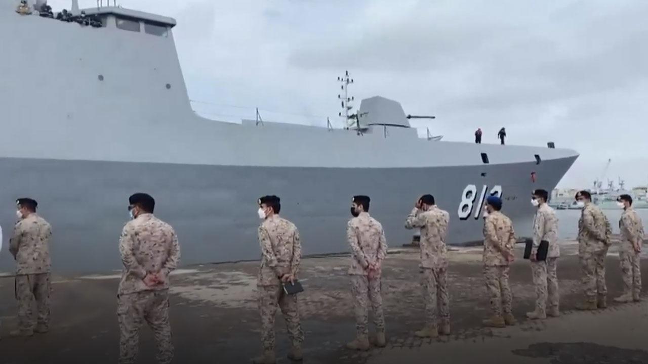 بالفيديو.. وصول القوات البحرية السعودية إلى باكستان للمشاركة في مناورات عسكرية