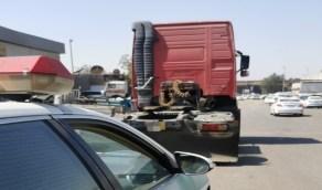القبض على قائد شاحنة للقيادة بسرعة عالية في جدة