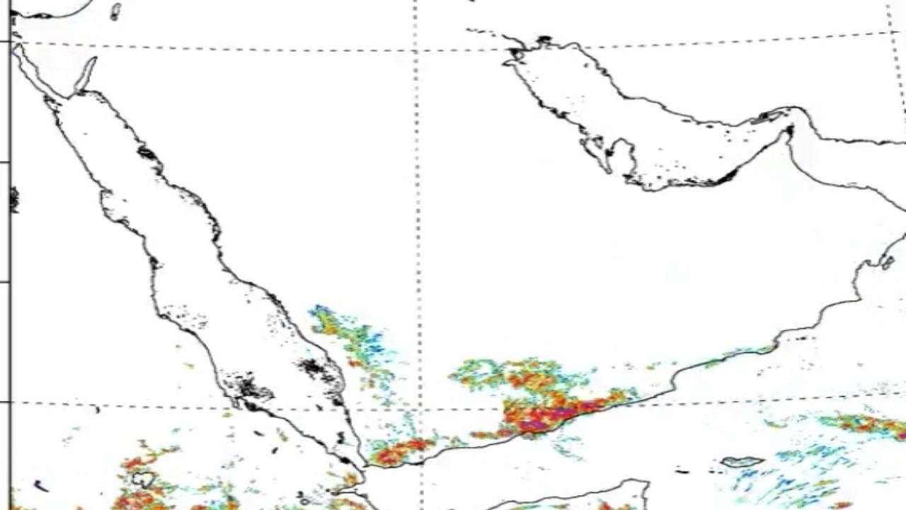 """""""الأرصاد"""" يكشف عن مسار الحالة المطرية المتوقعة على بعض المناطق"""