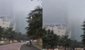 بالفيديو.. انتشار ضباب كثيف بالواجهة البحرية في جدة