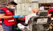 بالصور .. إسعاف 49 حالة تعاني من أمراض مزمنة وإصابات في الحرم المكي الشريف