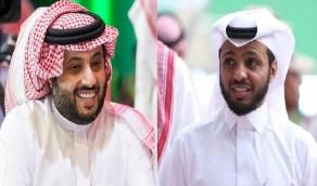 المريسل يتعرض لموقف محرج خلال حضوره جلسة تركي آل الشيخ
