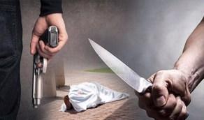 شاب يقتل صديق طفولته ثم يقطع رقبته ويحرق جثته!