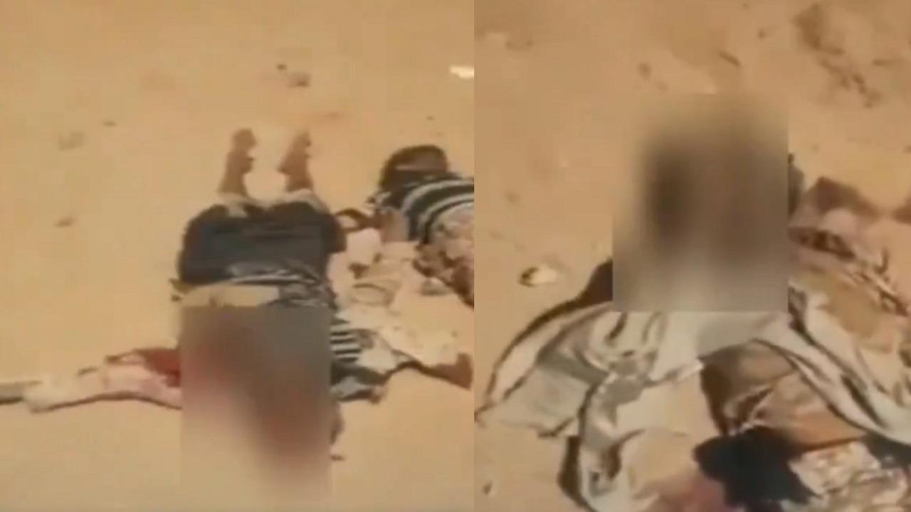 فيديو..تساقط جثث الحوثيين على مداخل مأرب