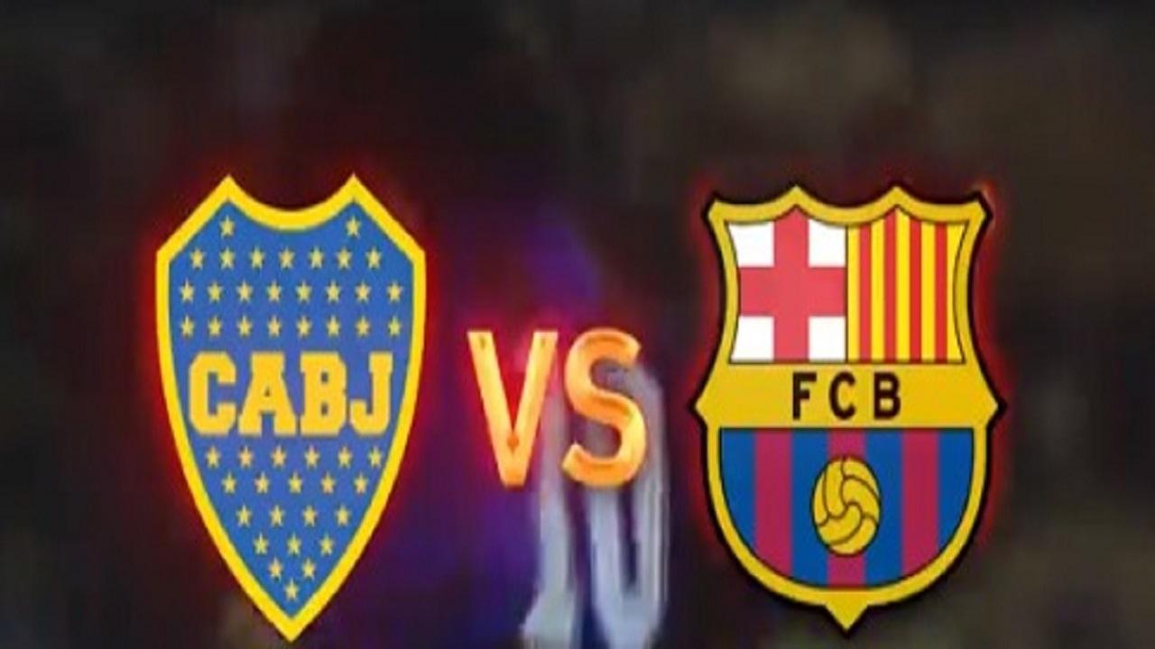 شاهد.. مباراة تاريخية بين برشلونة وبوكا جونيورز في موسم الرياض