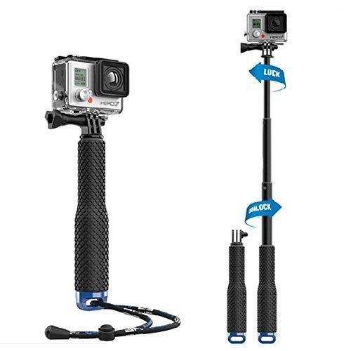 Waterproof Adjustable Aluminum Extension Selfie Stick for