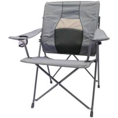 Folding Chair Walmart Rooms To Go Reclining Chairs Ozark Trail Back Care Gray Slickdeals