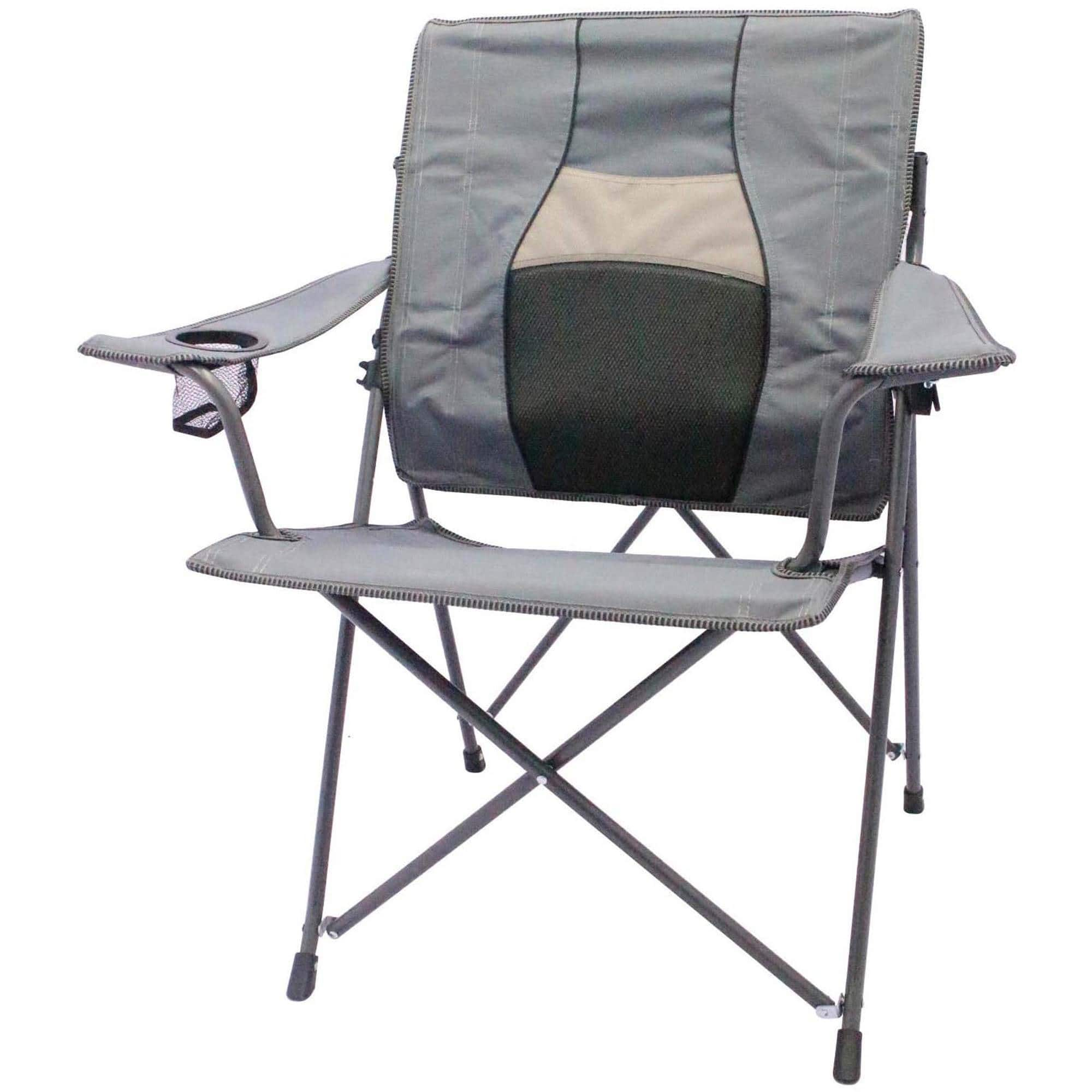 Trail Chair Ozark Trail Back Care Folding Chair Gray Slickdeals
