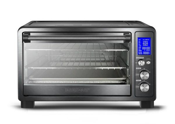 Farberware Toaster Oven Black Stainless Steel Ymmv 13