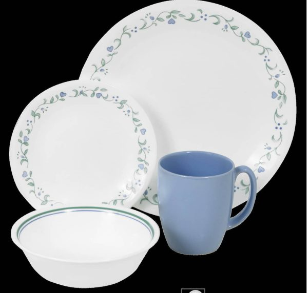 16-piece Corelle Livingware Dinnerware Set Country Cottage