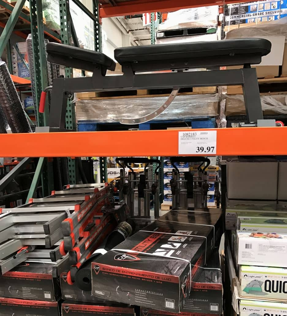 Cap Barbell Deluxe Utility Bench 39 97 At Costco B Amp M Ymmv